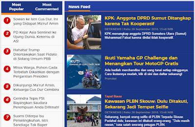Cara melihat Berita Popular hari ini dengan mudah