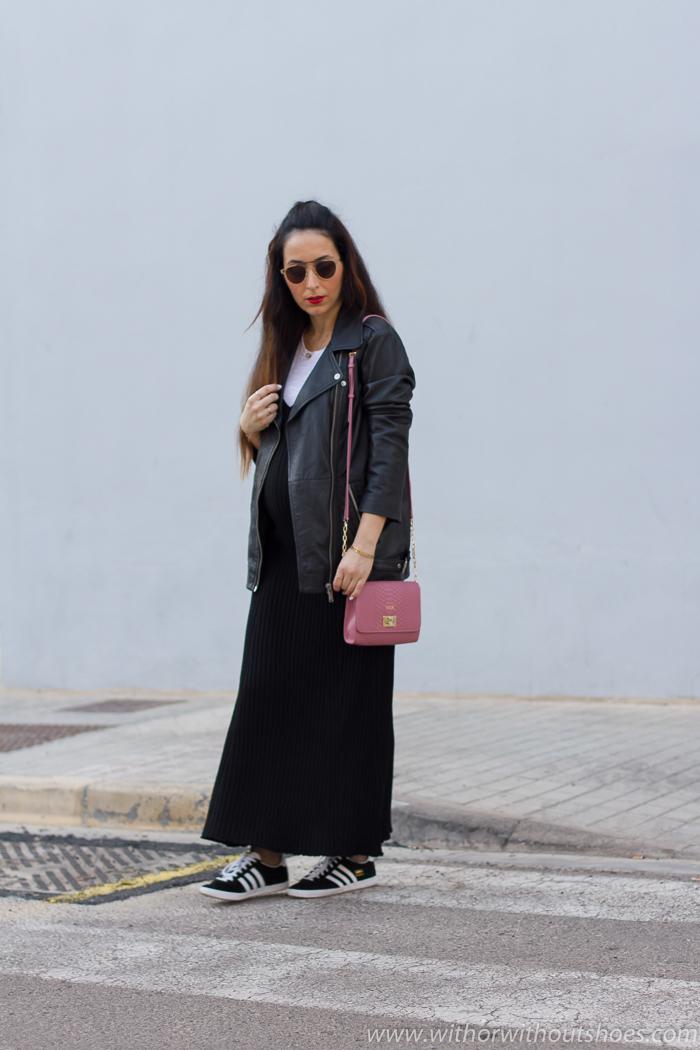 Ideas de look para vestir durante el embarazo con ropa asequible de Zara