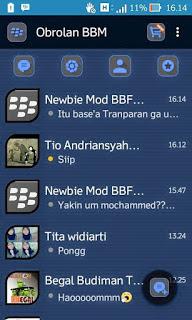 BBM Dark Blue