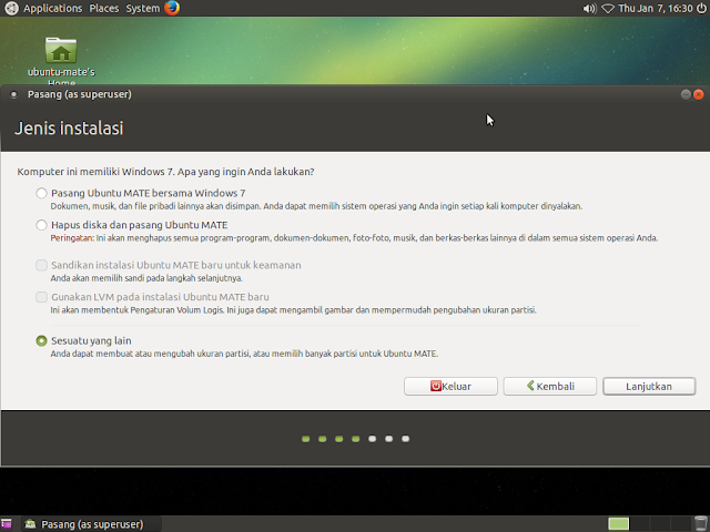 cara instal dualboot linux windows