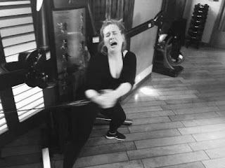 Adele Shares Another Hilarious Workout Pic, Gives Us One More Reason to Love Her.
