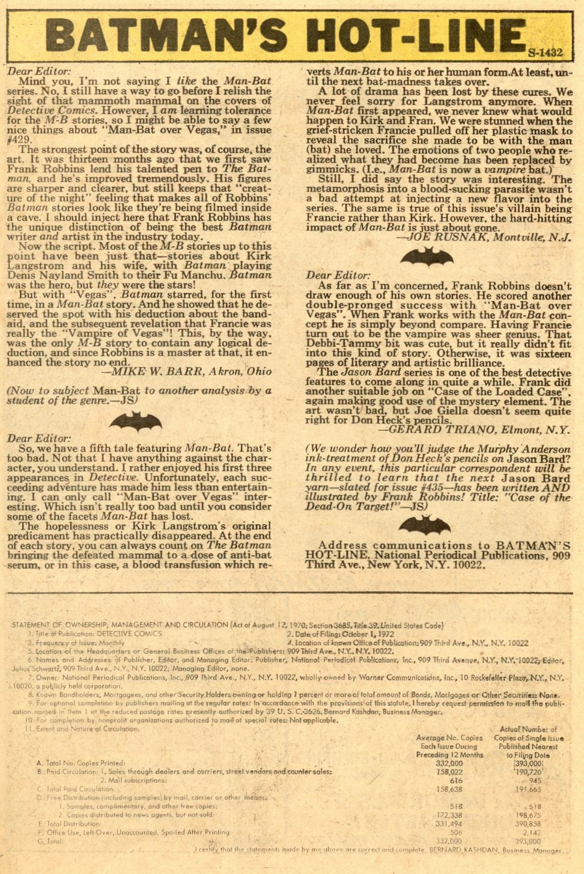 Detective Comics (1937) 433 Page 21