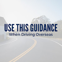 Don't Get Pulled Over This Festive Season:  Use This Guidance When Driving Overseas