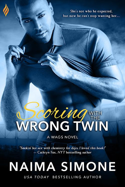 Love this #BookReview Scoring with the Wrong Twin by @Naima_Simone #Romance #interracial