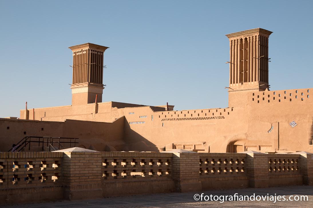 torres de ventilacion o badgir en Yarz Iran