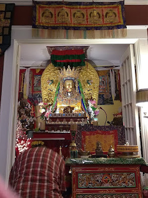 U.S. Jowo Rinpoche Statue: Drikung Meditation Center at Jokhang Temple, Arlington, Massachusetts