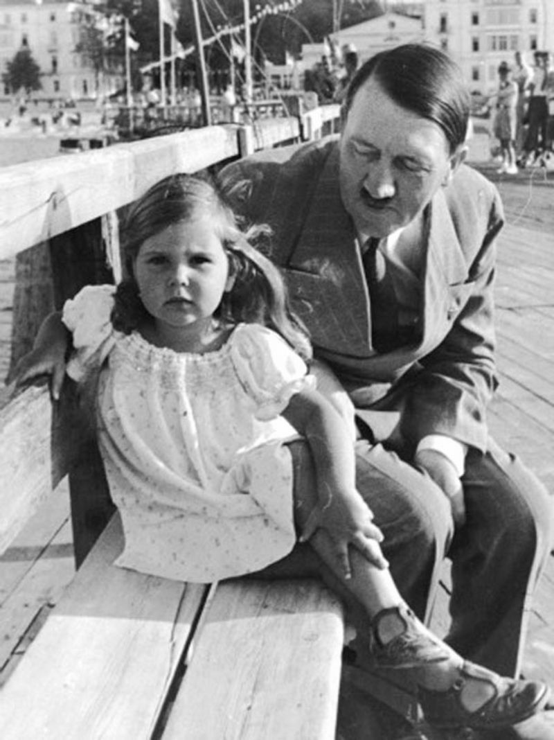 These Pictures of Adolf Hitler With Helga Goebbels, His ...