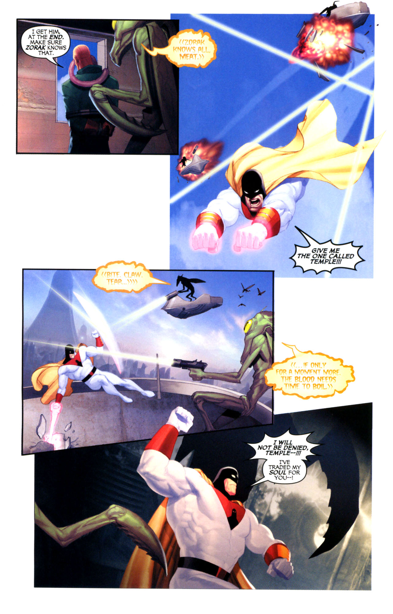 Read online Space Ghost (2005) comic -  Issue #5 - 10