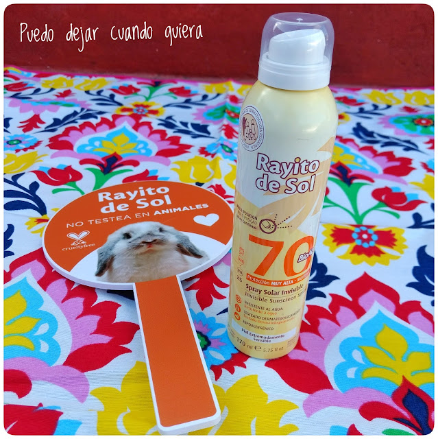 Spray Solar Invisible FPS 70 Rayito de Sol