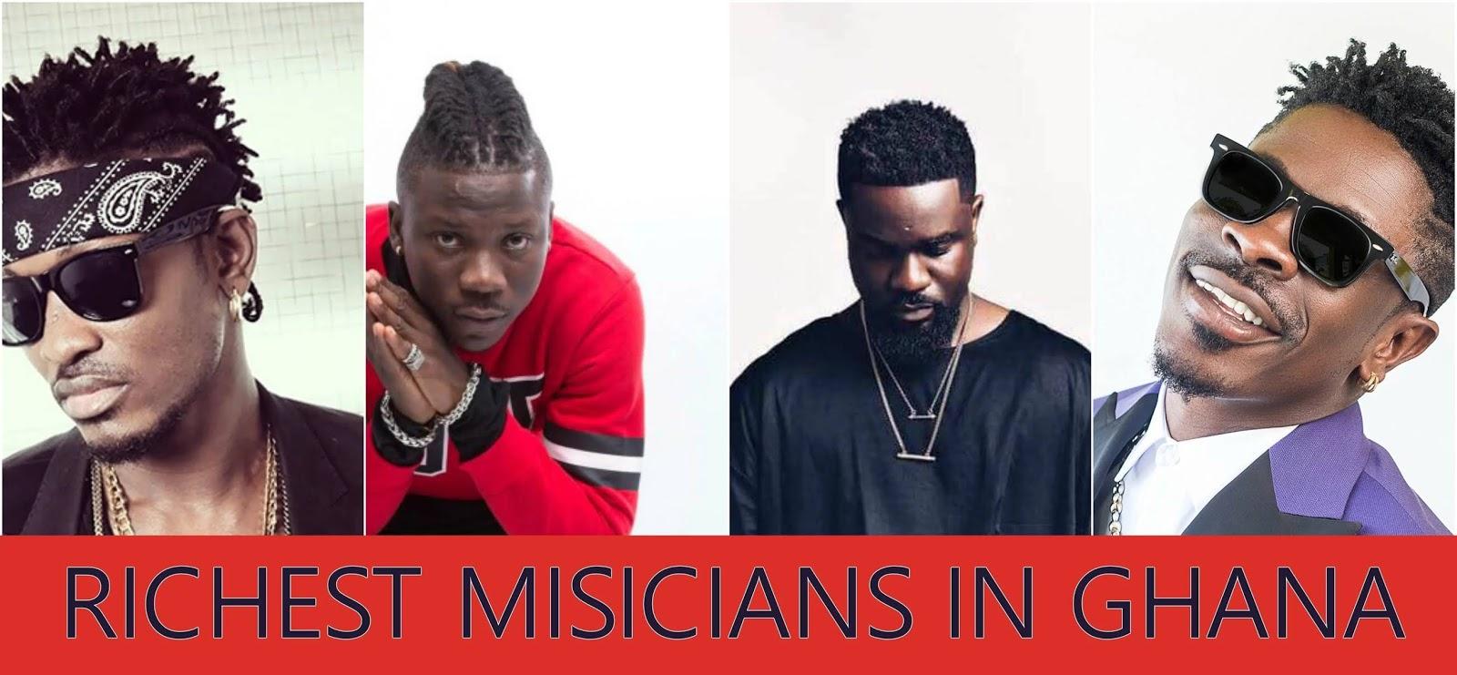 Richest Musicians from Ghana