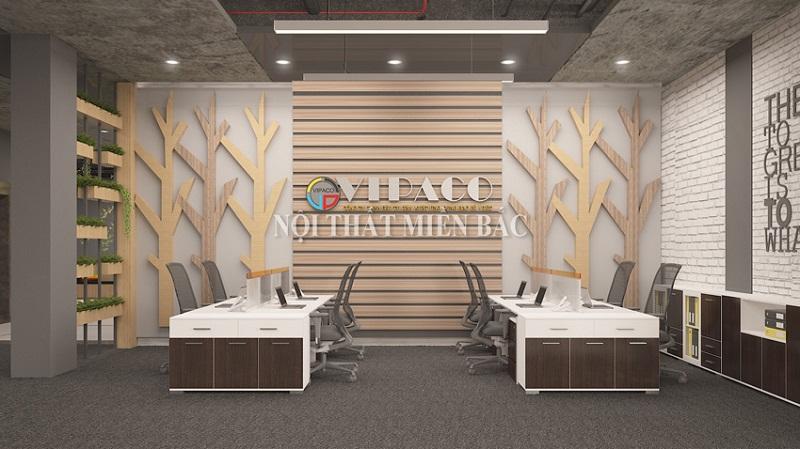 Thiết kế nội thất phòng làm việc mang đến sự thoải mái cho người dùng