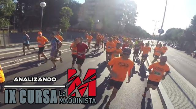 Analizando Cursa La Maquinista 2016