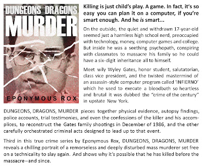 Read more mass murder reports, from Eponymous Rox
