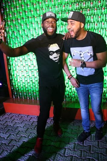 18 Grammy winning DJs, Black Chiney & DJ Snoop Da Damaja shut down Club Quilox for Heineken Green Light party