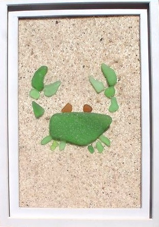 Craft Projects With Sea Glass