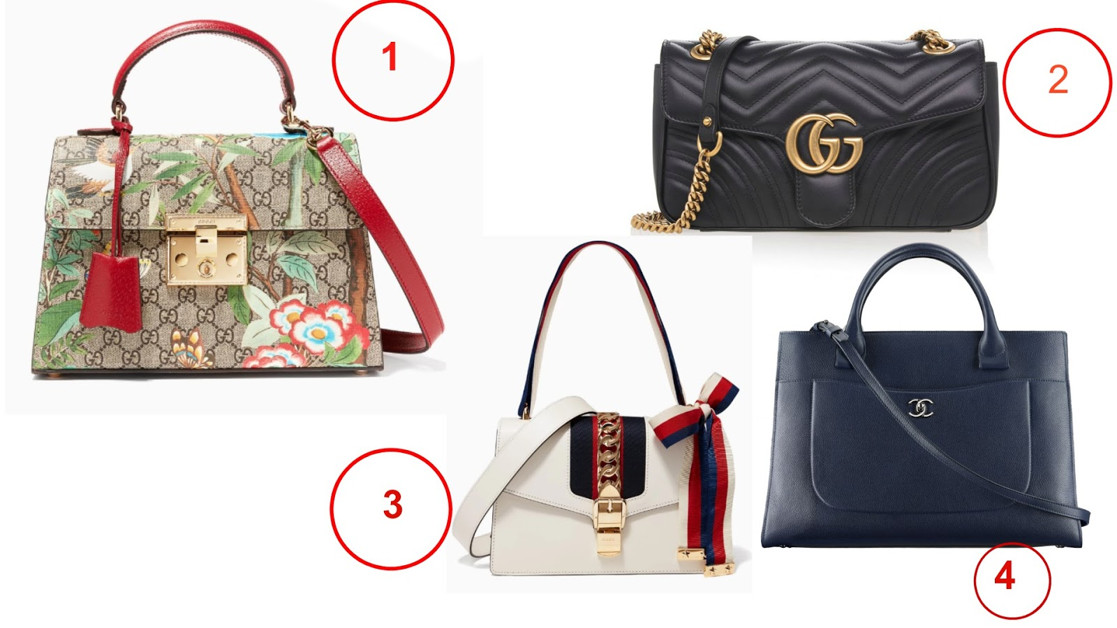 Latest Fall Gucci Bags And Chanel Trends 2017
