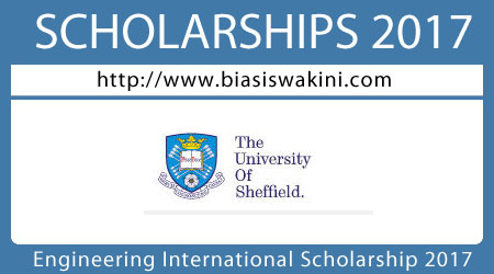 Engineering International Scholarship 2017