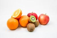 variétés de fruits frais