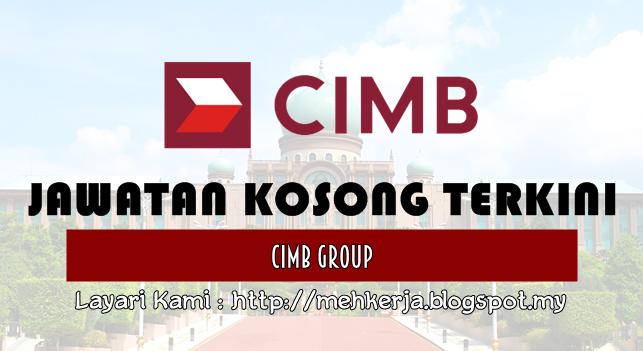 Jawatan Kosong Terkini 2016 di CIMB Group