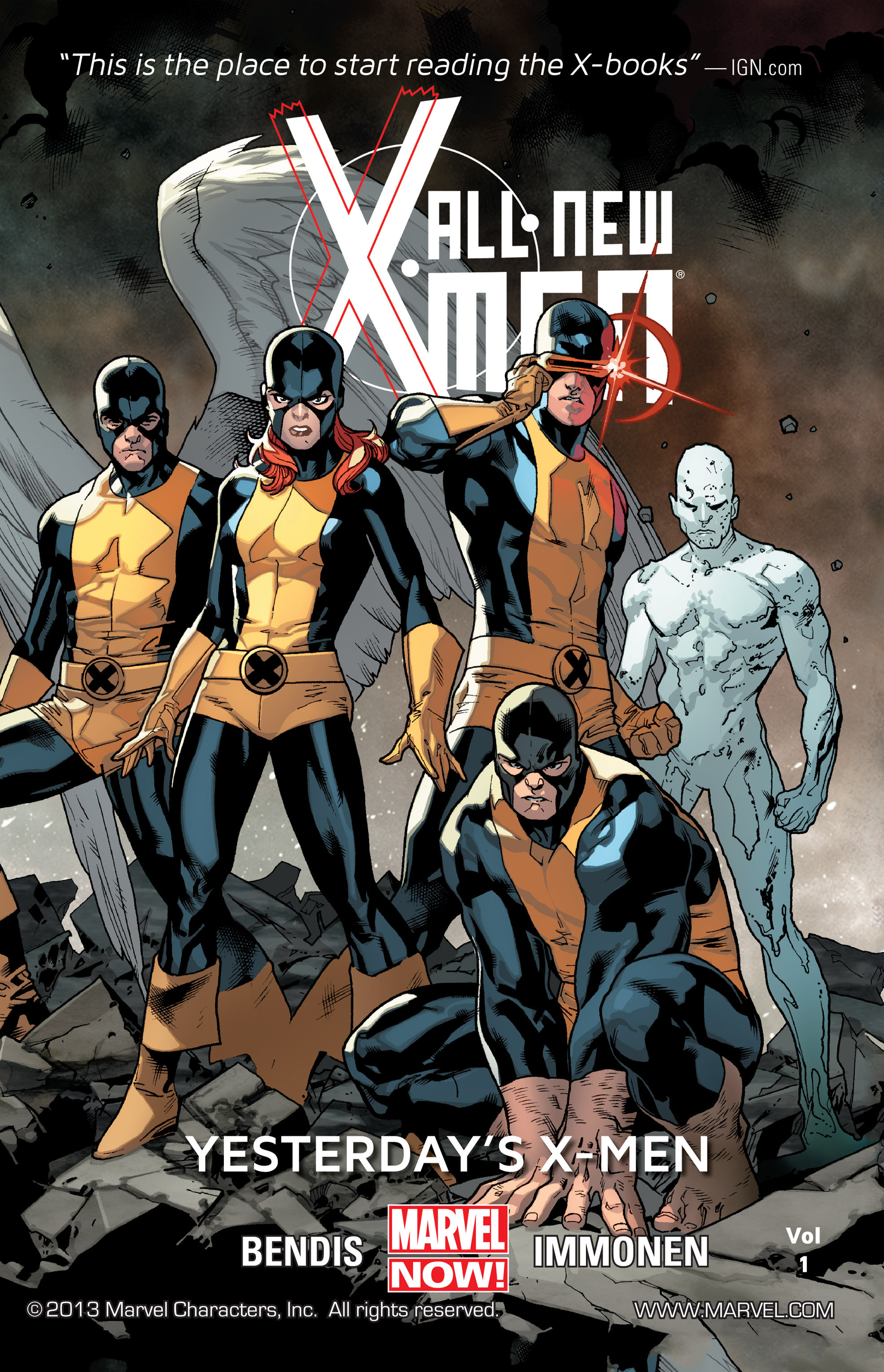 Read online All-New X-Men (2013) comic -  Issue # _Special - Yesterday's X-Men - 1