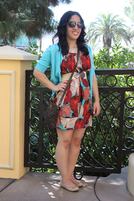 Vegas Tropical DVF Dress