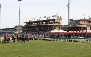 Rome's Ippodromo Capannelle, home of the Derby Italiano