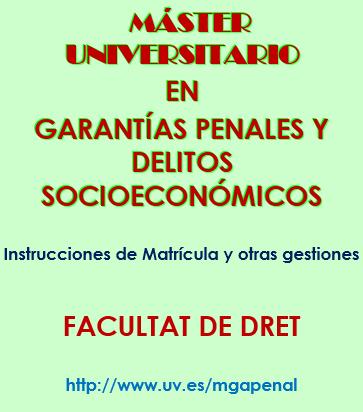 Caro asociados master universidad de valencia for Universidad de valencia master