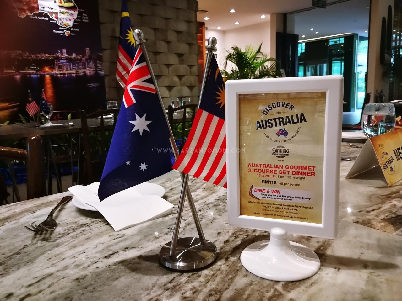 Jom Discover Australia Di The Federal Kuala Lumpur Bermula 13 Julai 2018 - 28 Julai 2018