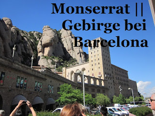 Monserrat Gebirge bei Barcelona