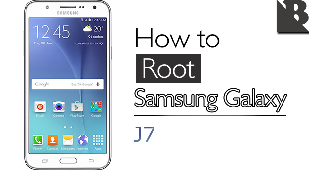 How To Root Samsung Galaxy J7 SM-J700 And Install TWRP Recovery