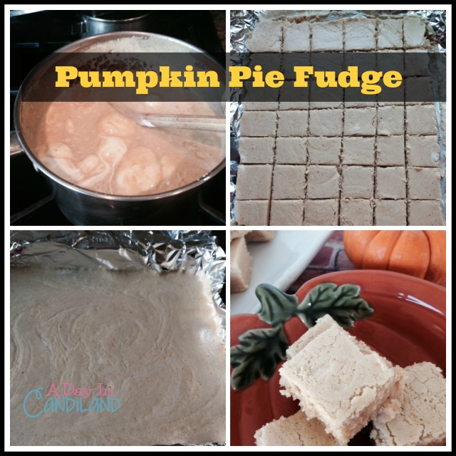 A Day in Candiland Recipe: Pumpkin Pie Fudge