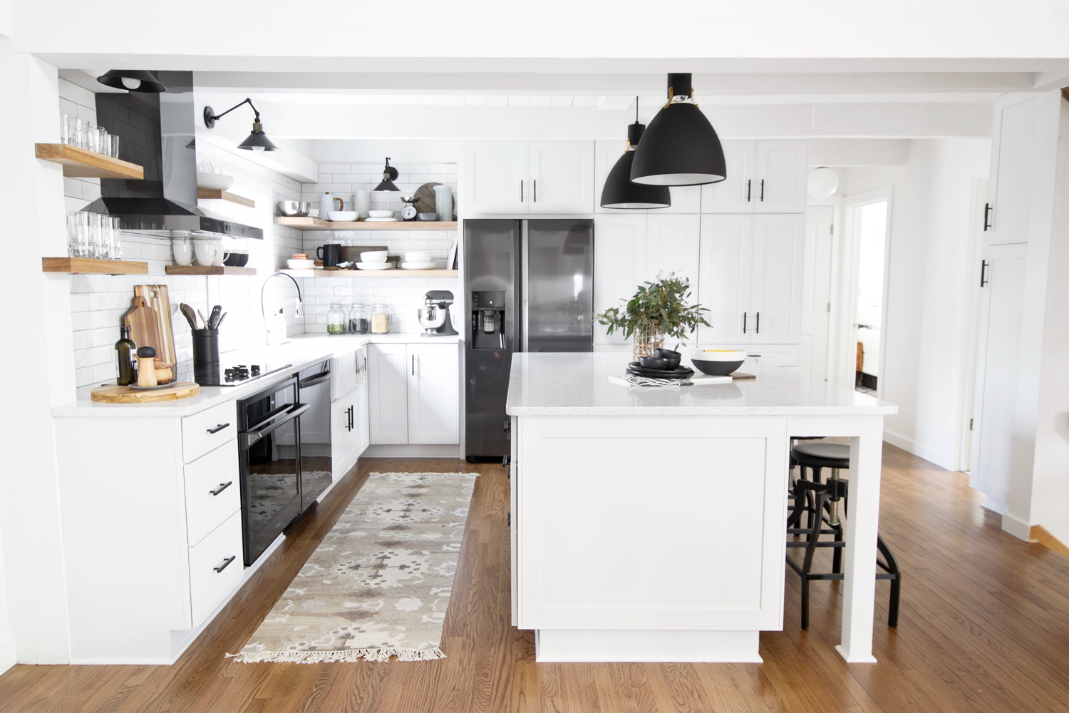 Kitchen Reveal   Appliances with Samsung and The Home Depot - Dorsey ...
