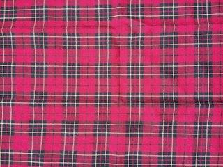 baju pakaian seragam batik identitas seragam lengan panjang baju batik pakaian batik identitas kotak kotak  merah ping tua dari rakhma konveksi