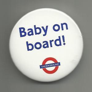 Baby on board! - Chapa del TFL