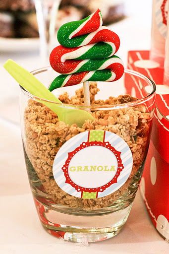 Buddy the elf christmas party via Kara's Party Ideas KarasPartyIdeas.com