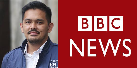 BBC is anti-Duterte, says Greco Belgica