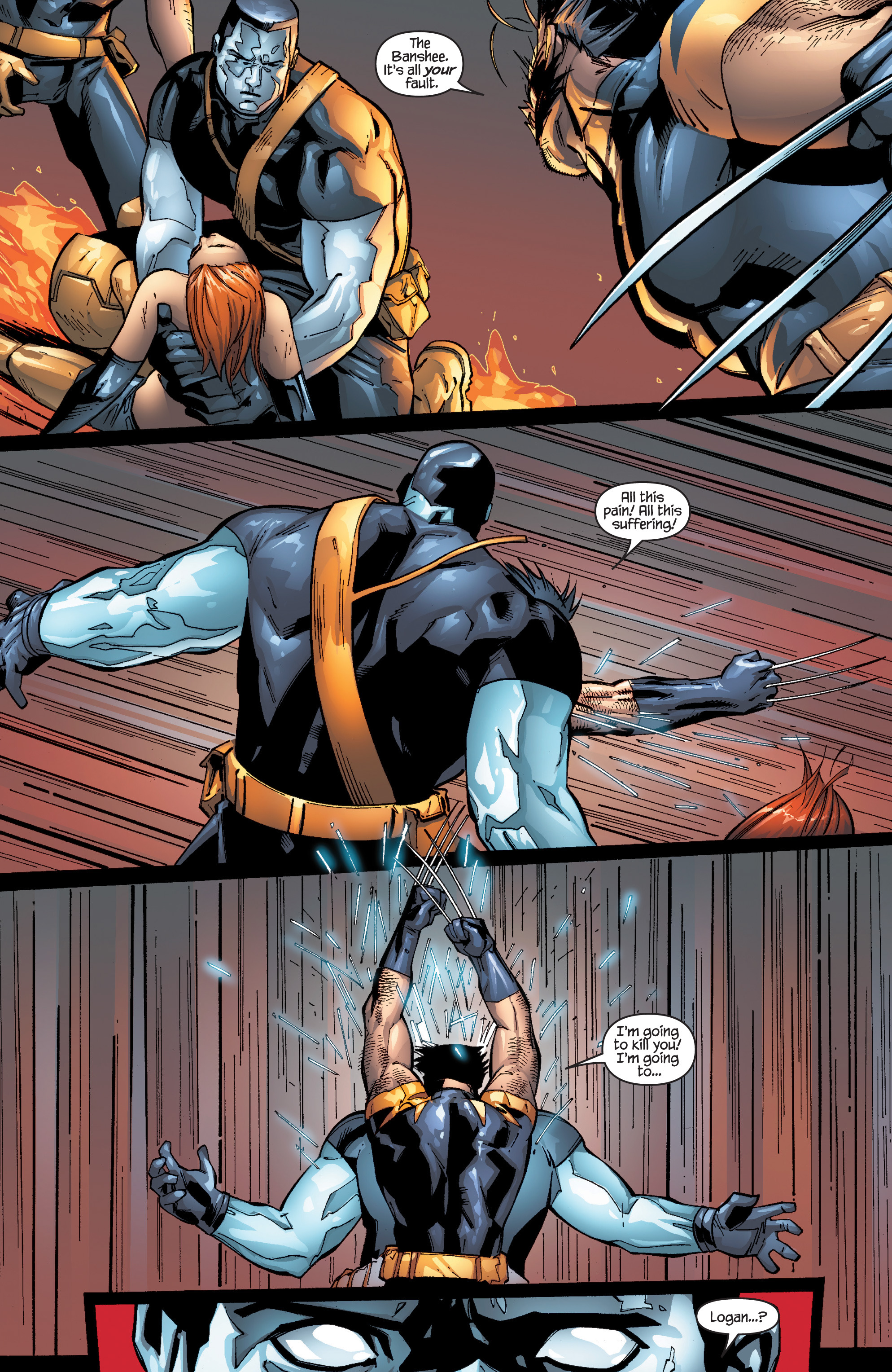 Read online Ultimate X-Men comic -  Issue #96 - 23