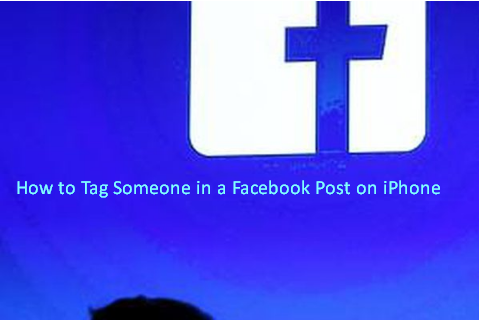 How to Tag Someone in a Facebook Post on iPhone