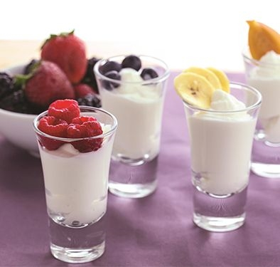 PROTEIN-PACKED YOGURT AND FRUIT,