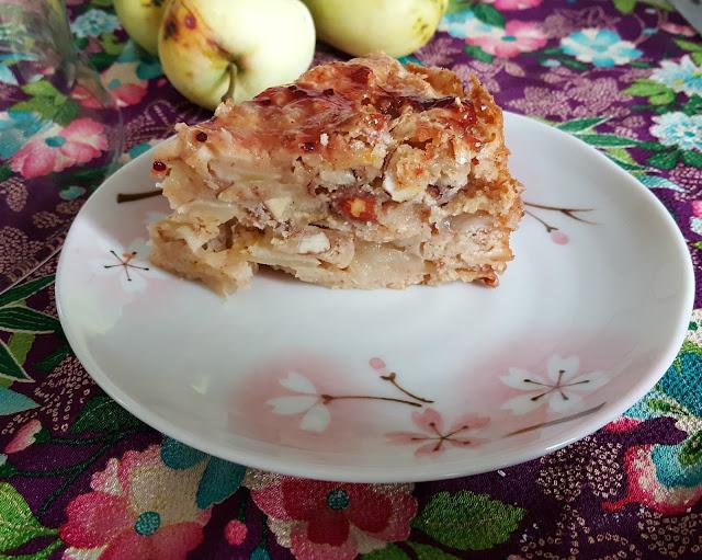 Norwegischer Apfelkuchen
