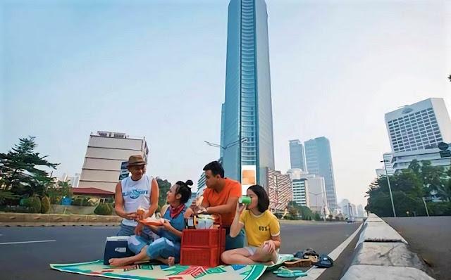 Jakarta Sepi, Pada Hari Idul Fitri 2018 Orang gak ada Kerjaan Bertindak!