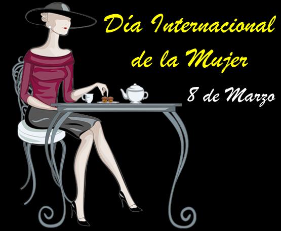 Tarjetas animadas dia internacional dela mujer