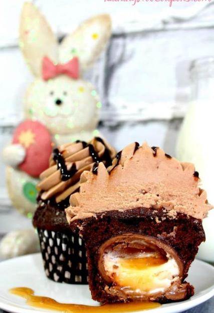 Cadbury Ganache Buttercream Cupcakes