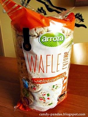 Wafle ryżowe wieloziarniste - Arroza (BIEDRONKA)