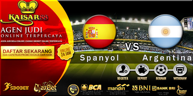 Prediksi Bola International Friendly Spanyol vs Argentina 28 Maret 2018