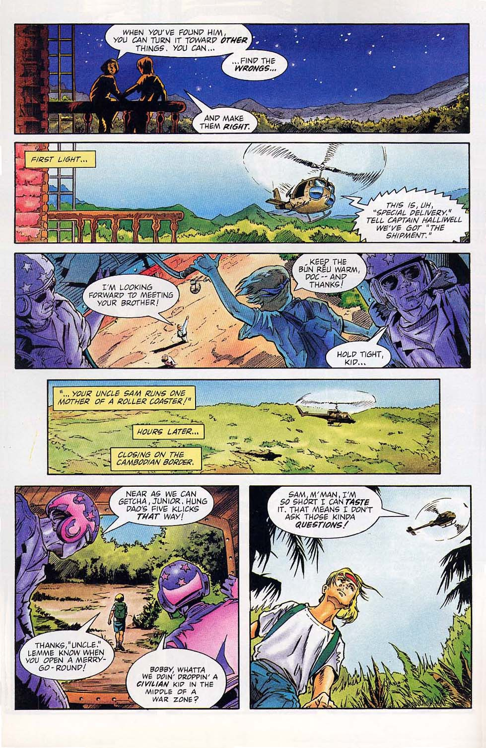 Read online Charlemagne comic -  Issue #1 - 21