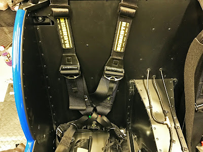 Schroth Six Point Harness fitted