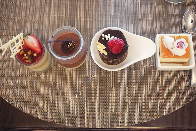 Try one of each dessert at Coast