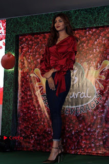 """Shilpa Shetty Stills in Tight Jeans at Launch Of """"B Natural Fruits Beverages"""""""
