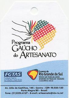 Programa Gaúcho do Artesanato - PGA